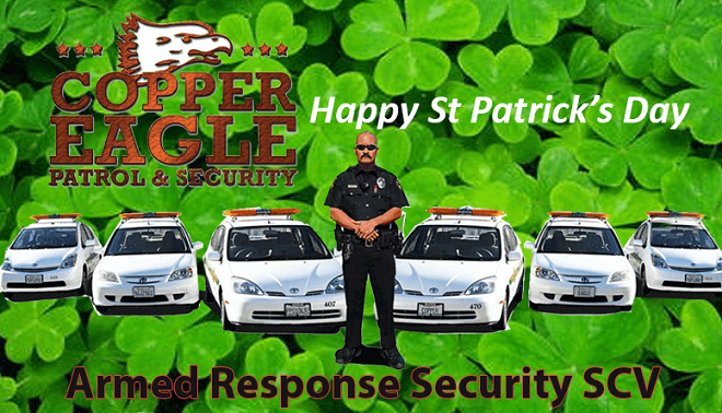 Be Responsible on St Patrick's Day – Copper Eagle Patrol