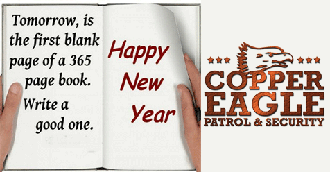 New Year Coming! Make it Safe – Copper Eagle Security Patrol