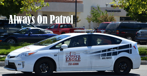 Copper Eagle Security Patrol – We're On Patrol