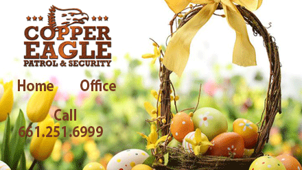 Copper Eagle Patrol  – Easter Peace of Mind