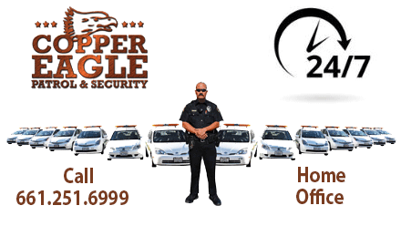 Copper Eagle's on Patrol – SCV' Largest Fleet of Security Vehicles.