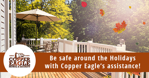 Be Safe this Thanksgiving Day and during Black Friday Sales! | Copper Eagle Patrol & Security