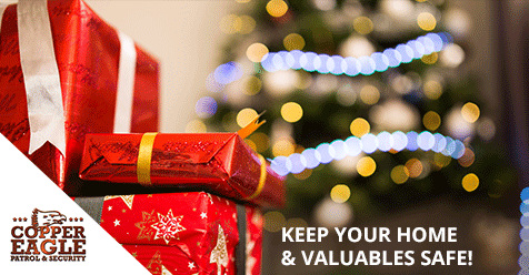 Don't forget to remove your gifts from your car after shopping! | Copper Eagle Security & Patrol