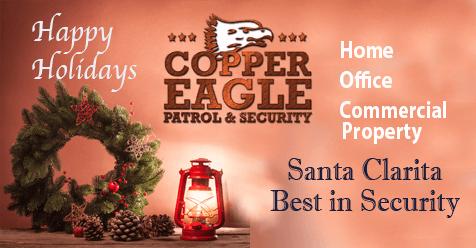 Happy Holidays SCV | Copper Eagle Patrol & Security